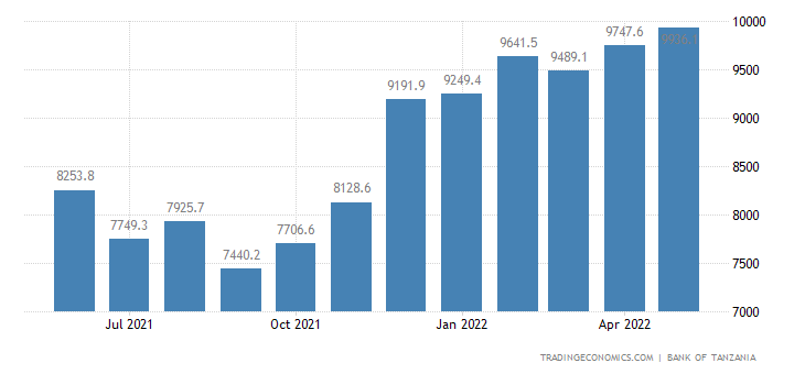 Tanzania Government Debt