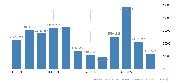 Turkey Imports from Chile