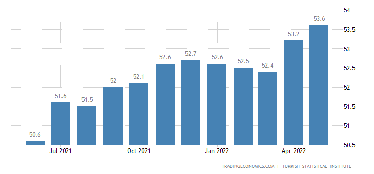 Turkey Labor Force Participation Rate